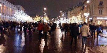 Dzisiaj Warszawa rozbłyśnie świątecznie