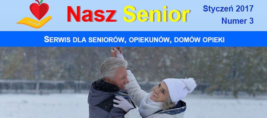 Czasopismo Nasz Senior. Numer styczeń 2017.