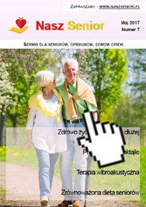 Nasz Senior - miesięcznik dla seniorów - pobranie wydania PDF maj 2017