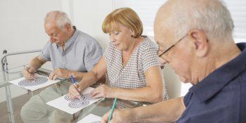 Ćwiczenia na pamięć dla seniora