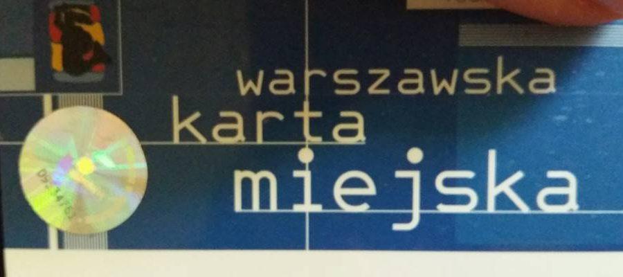 Elektroniczny Hologram Karty Warszawiaka Nasz Senior