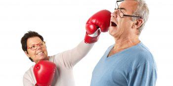 Senior w rodzinnych konfliktach