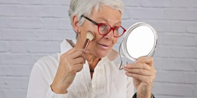 Makijaż dla seniorki