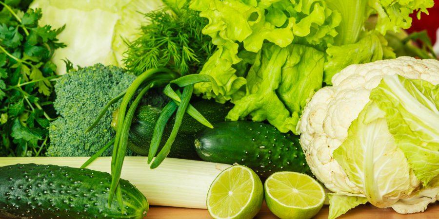 Barwniki pełne zdrowia – rośliny zielone