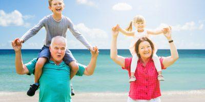 Podstawowe typy relacji dziadków z wnukami